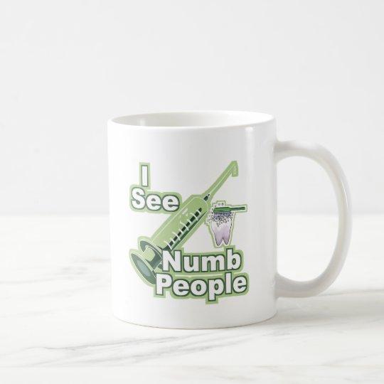 I See Numb People Coffee Mug