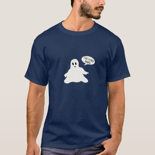 I see scared people t-shirt