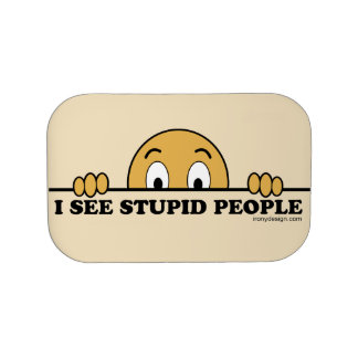 I See Stupid People Lunchboxes