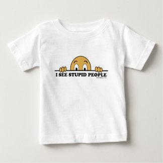 I See Stupid People T Shirts