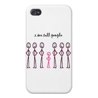 I See Tall People iPhone 4 Cover