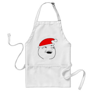 i see what you did there xmas meme aprons
