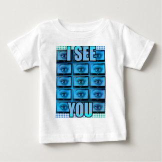 I See You Eye Ball Television Baby T-Shirt