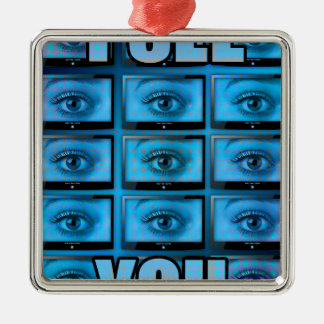 I See You Eye Ball Television Christmas Ornament