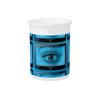 I See You Eye Ball Television Pitcher