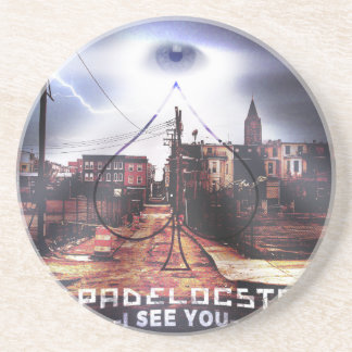 I See You new Release Drink Coaster