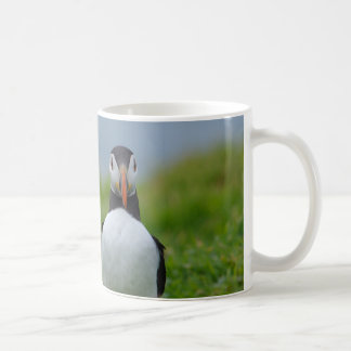 I See You Puffin Basic White Mug