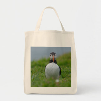I See You Puffin Tote Bag