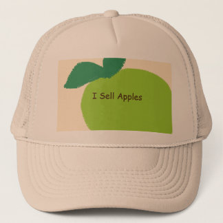 'I Sell Apples' Trucker Hat