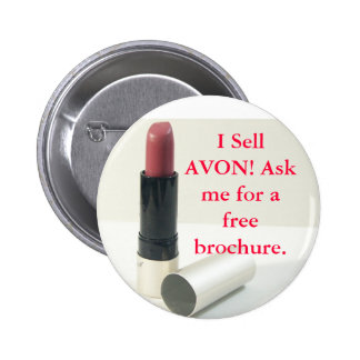 I Sell Avon button
