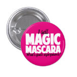 I sell Magic Mascara - Younique 3 Cm Round Badge