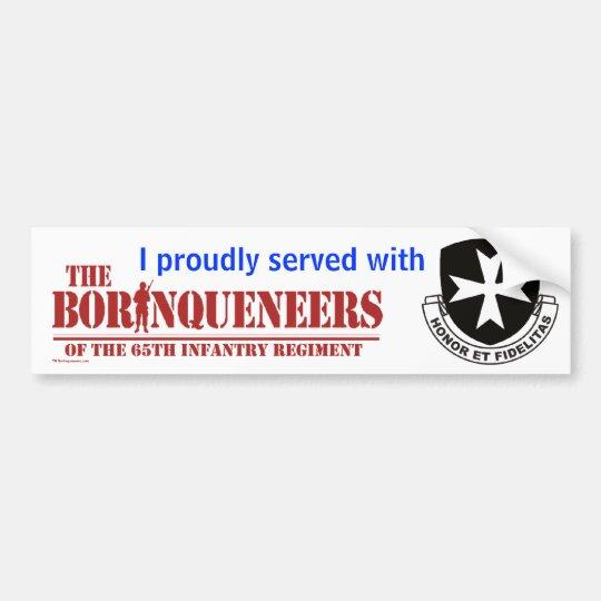 I served - Bumper Sticker
