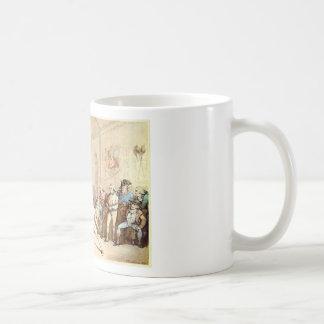 """I shall conquer this"", Rowlandson, 1787 Basic White Mug"