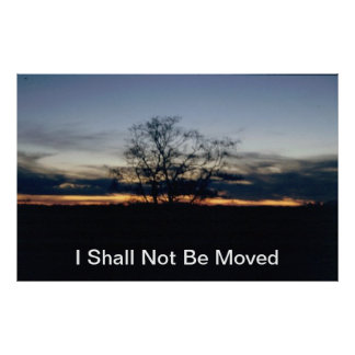 I Shall Not Be Moved Poster
