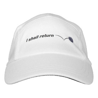 I Shall Return Indoor Pickleball Cap