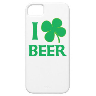 I Shamrock Beer Barely There iPhone 5 Case