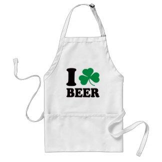 I Shamrock Beer Standard Apron