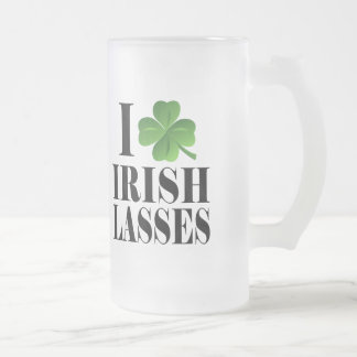 I Shamrock, Heart Irish Lasses, St-Patrick's Day Coffee Mug