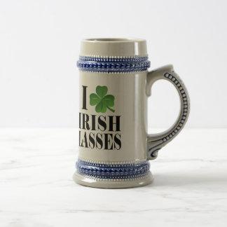 I Shamrock, Heart Irish Lasses, St-Patrick's Day Mugs