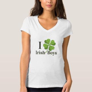 I (shamrock) Irish Boys T-shirt