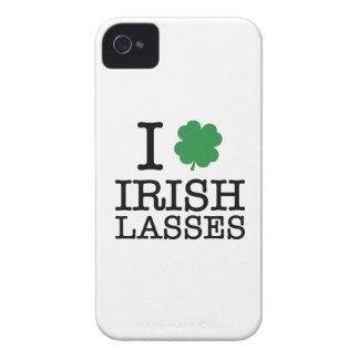I Shamrock Irish Lasses iPhone 4 Case-Mate Case