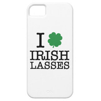 I Shamrock Irish Lasses iPhone 5 Cover