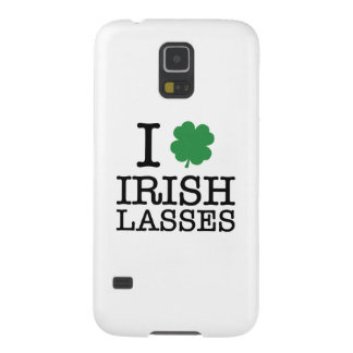 I Shamrock Irish Lasses Galaxy S5 Case