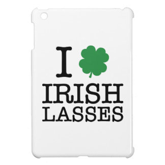 I Shamrock Irish Lasses iPad Mini Case