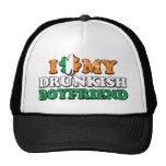 I Shamrock My Drunkish Boyfriend Mesh Hat