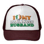 I Shamrock My Drunkish Husband Hats