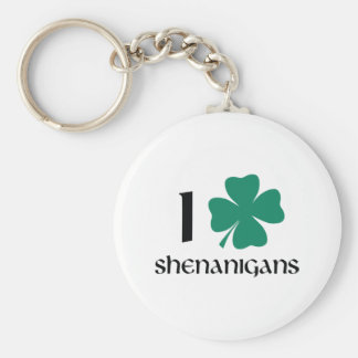I Shamrock Shenanigans Key Ring