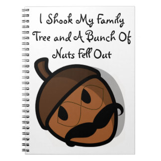 I Shook My Family Tree Spiral Notebook