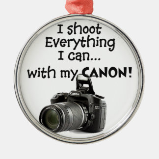 I shoot everything I can Christmas Ornament