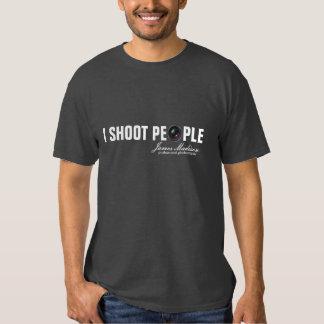 I Shoot People -  Camera Lens Photography Tee Shirt