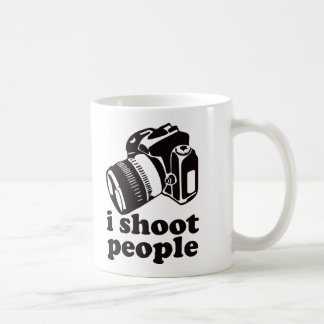 I Shoot People! Coffee Mug