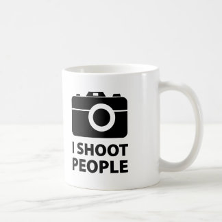 I Shoot People Coffee Mug