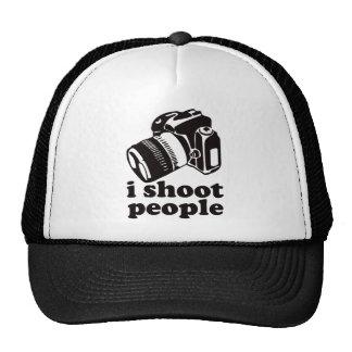 I Shoot People Hats