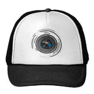 I shoot people trucker hats