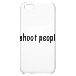 I Shoot People Cover For iPhone 5C