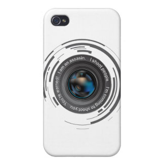 I shoot people iPhone 4/4S case