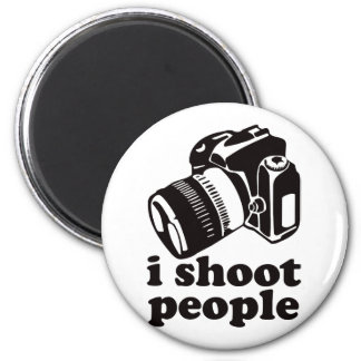 I Shoot People! 6 Cm Round Magnet