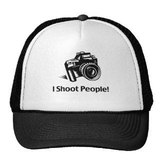 I Shoot People Photographer Trucker Hats