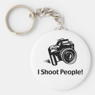 I Shoot People Photographer Key Ring