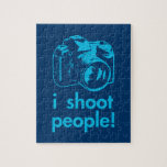 i shoot people photographer photography funny jigsaw puzzle