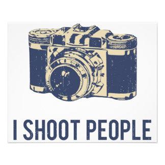 I Shoot People Photography Camera 11.5 Cm X 14 Cm Flyer