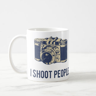 I Shoot People Photography Camera Coffee Mug