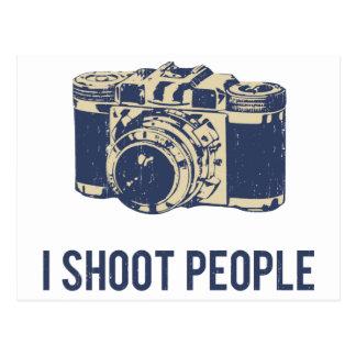 I Shoot People Photography Camera Postcard