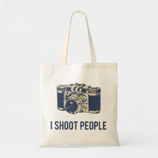 I Shoot People Photography Camera Tote Bag