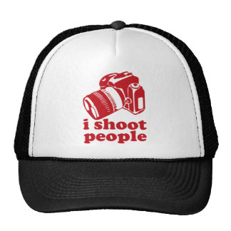 I Shoot People - Red Hats
