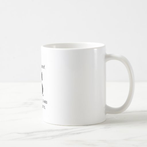 I shot the serif mugs